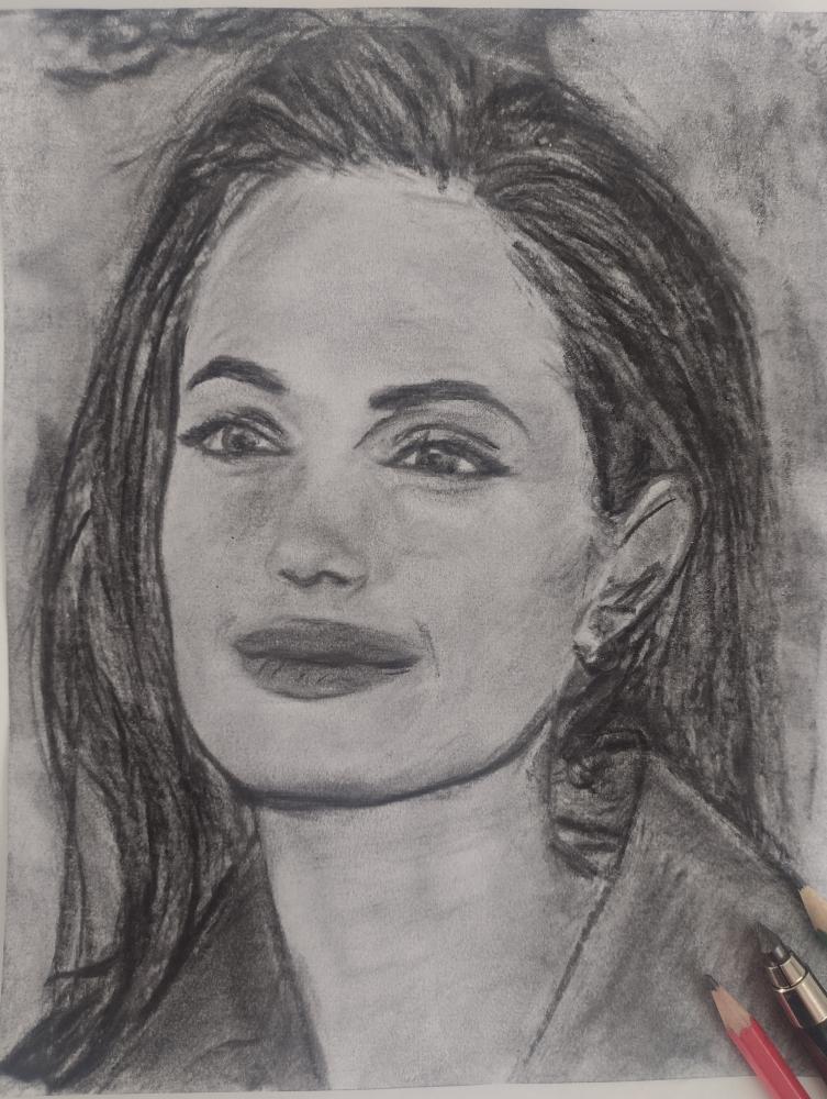 Angelina Jolie by mi7ell